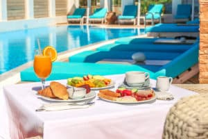 Hotel with breakfast in Andros | Amenities