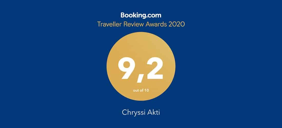Guest Review Award 2019 από την Booking.com