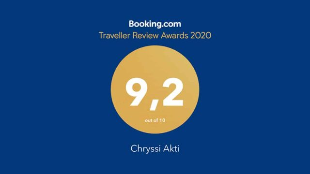 Guest Review Award 2019 by Booking.com
